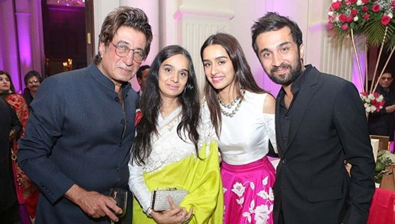 family of shraddha kapoor