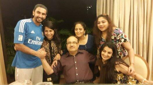 family of ranveer