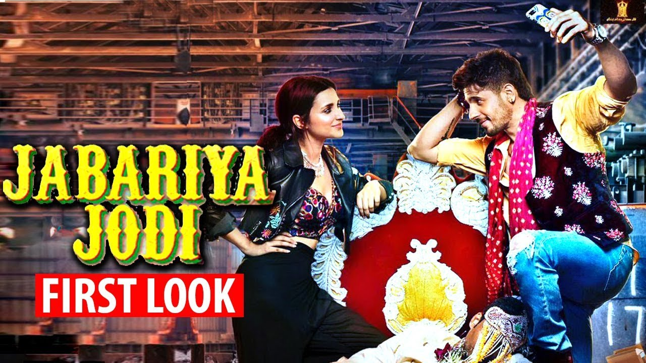 jabariya jodi first look