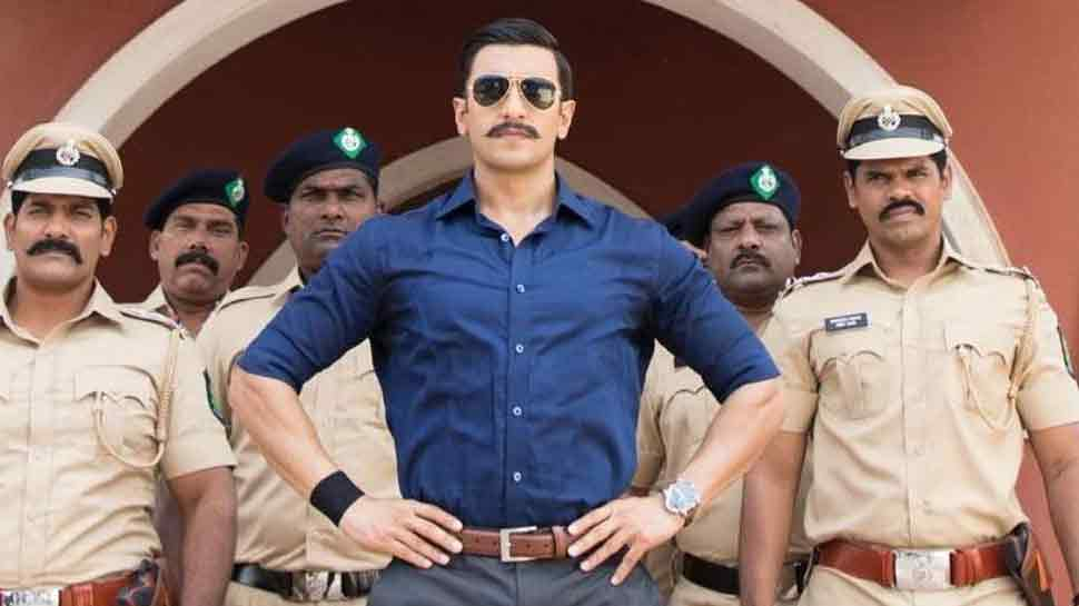 simmba movie look