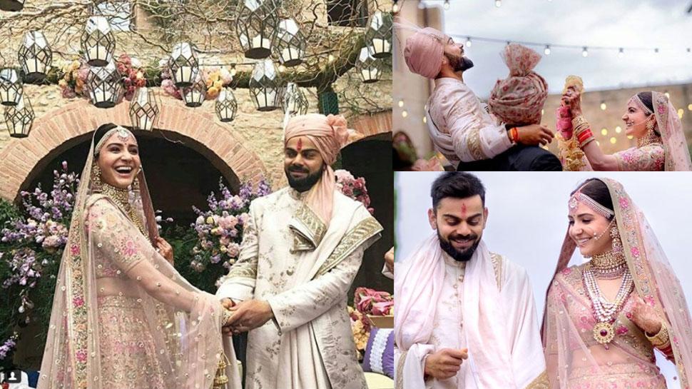 wedding of anushka