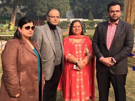 Family of Arun Jaitley