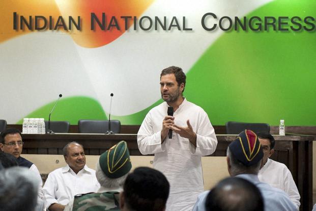 Rahul Gandhi as a President of Indian National Congress