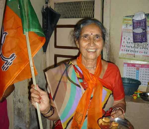 Wife of Narendra Modi