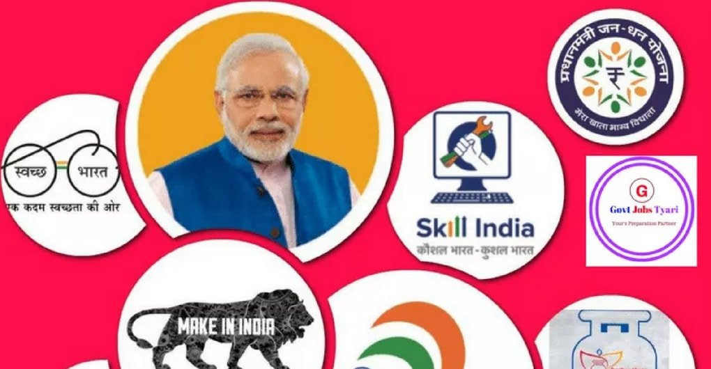 Schemes launched by Narendra modi