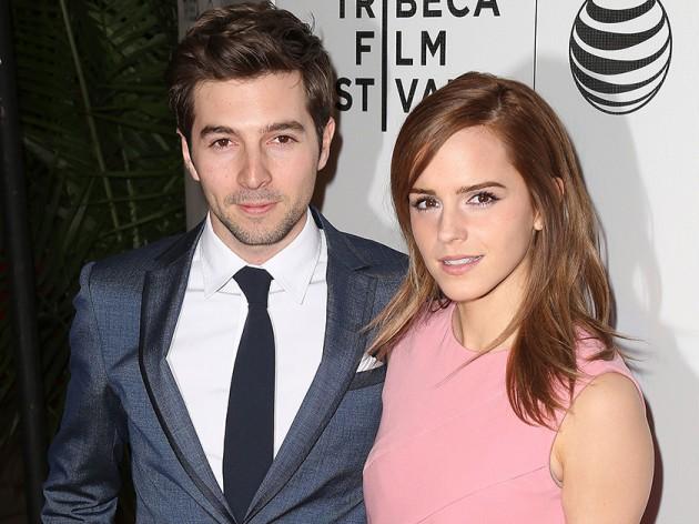 emma watson with her boyfriend (roberto aguire)