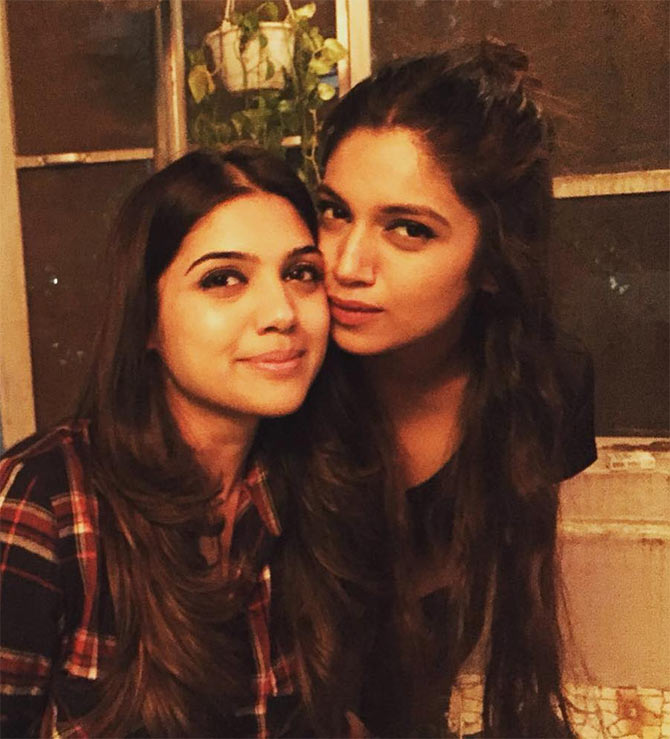 bhumi with her sister