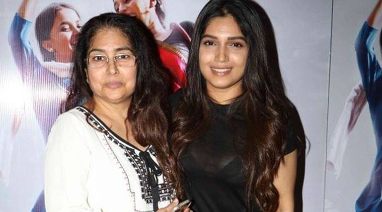 bhumi with her mother