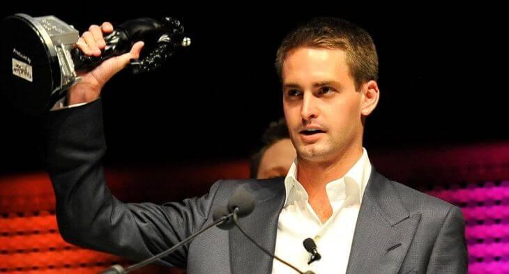 Evan Spiegel Take Awards