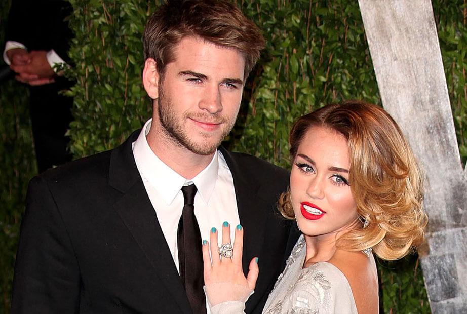 Miley cyrus Engagged to Liam Hemsworth