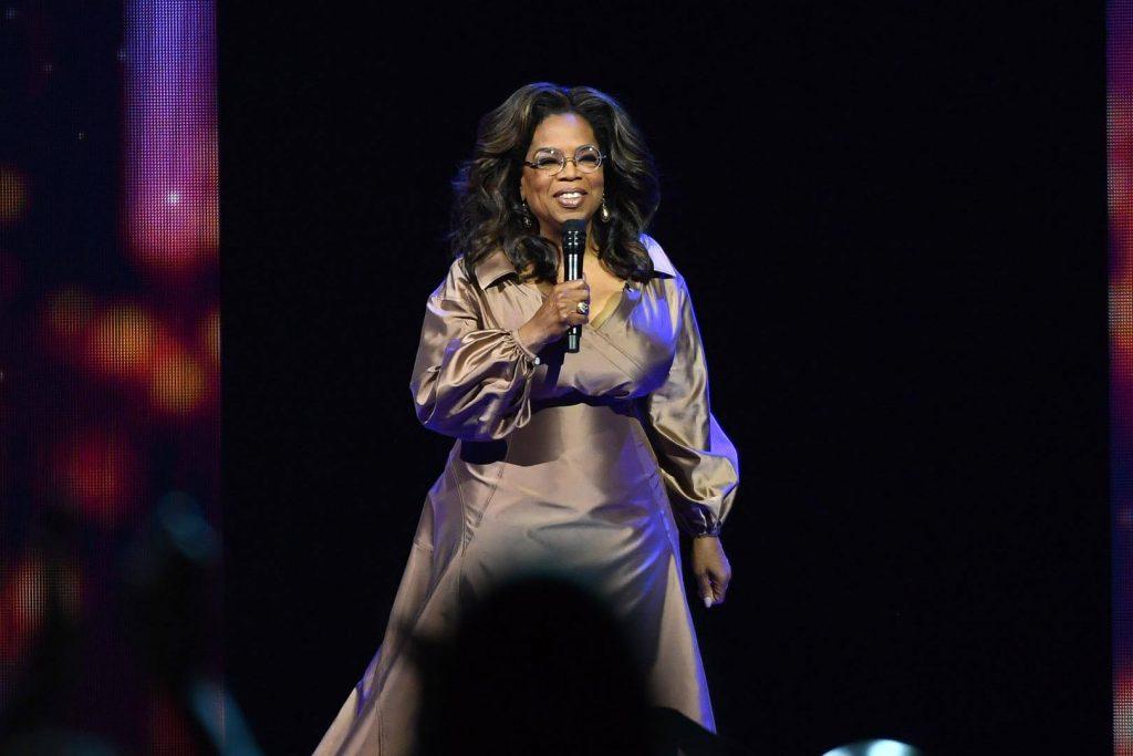 Live media: Oprah Winfrey