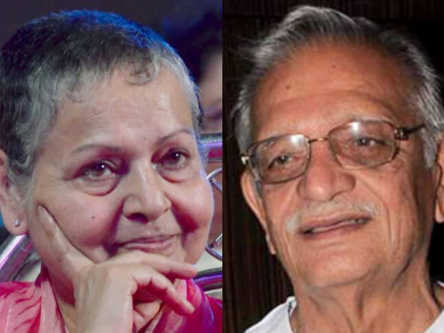 Meghna Gulzar's Parents Rakhee-Gulzar-Collage